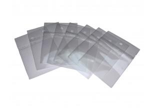 Пакеты Фасовочные полиэтиленовые без клейкой ленты (4х4.5см с отверстием/0.4мм) 20 шт.