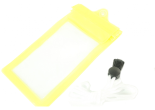 Чехол для подводной съемки 19 х10см/Желтый