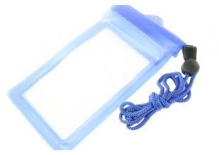 Чехол для подводной съемки 21.5 х 11.5см/Синий