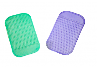 Коврик-держатель для телефона силиконовый антискользящий 13.5см