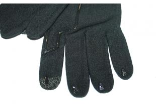 Перчатки для сенсорного экрана Decathlon (разные размеры) черные