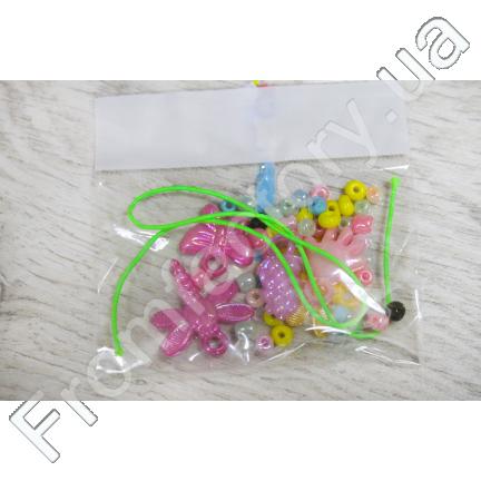 Детский набор для плетения браслетов (20 наборов)