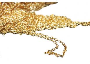 Цепочка металлическая 100см/Ø2мм (золото)