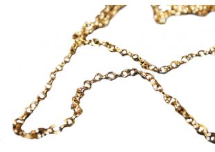Цепочка металлическая 100см/Ø3мм (золото)