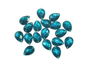 Камни пришивные (Капелька 12х17мм) 30 шт.