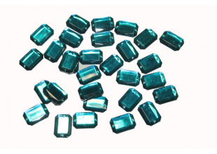 Камни пришивные (Восьмиугольник 25х18мм) 20 шт.
