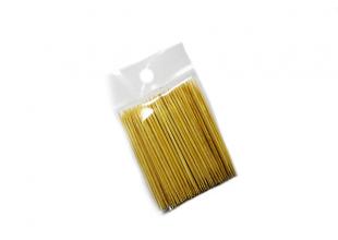 Зубочистки деревянные двусторонние в пакете (100шт.)