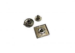 Кнопки для одежды квадратные (10шт/17мм)