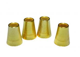 Наперсток золотой усиленный (Ø1.7см)