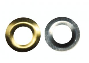 Люверсы на термооснове (золотое кольцо) 38мм/20шт