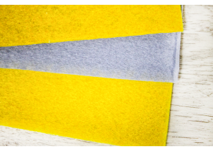 Полотенце кухонное фетровое набор 3шт (30х30см)