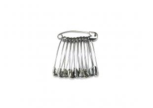 Булавки (10шт) №3 -  4.5см/серебряные