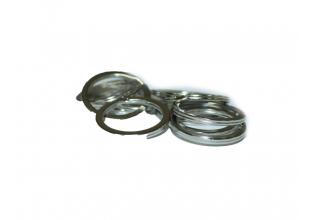 Колечки/основы для ключей и брелоков 28мм (плоские)
