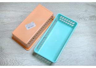 Корзинка для хранения мелочей пластиковая 18смх8см
