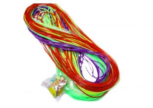 Леска резиновая для плетения (50 шт) №1