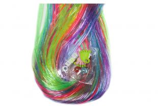 Леска резиновая для плетения (50 шт) №3 (прозрачная)
