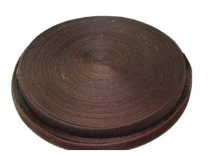 Липучка (ширина 2.5см/коричневая) 25м