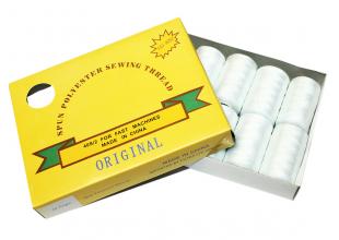 Нитки (777) белые (упаковка 10 шт.)