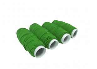 Нитки резиновые (Зеленые) 1шт/0.9мм/25м