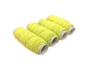 Нитки резиновые (Желтые) 1шт/0.9мм/25м