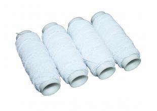 Нитки резиновые (Белые)  1шт/0.9мм/25м