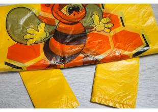 Пакеты Фасовочные полиэтиленовые большие (50шт/18кг) 28смх23.5см