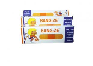 Пластырь бактерицидный Bang-Ze (10шт)