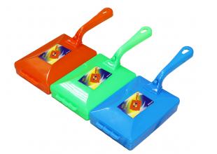 Ручной пылесос/щетка на роликах пластмассовая с ручкой