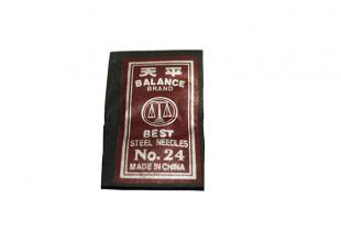 Иголки для вышивания №24 (25 игл)