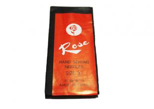 Иголки (Роза) №3 (25 игл) для ручного шитья