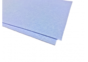 Фетр 1.5мм (30х30см/Голубой)