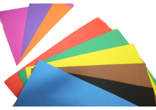 Фоамиран матовый (разные цвета) 2мм/20х30см