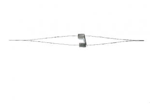 Иголки раздвоенные для бисероплетения 100мм