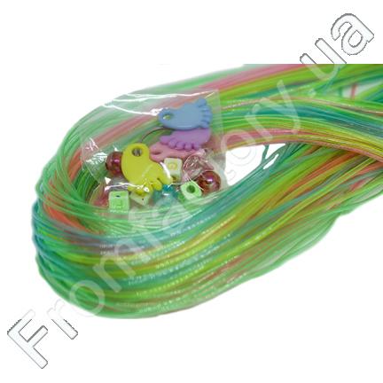 Леска резиновая для плетения (35 шт) №9 (прозрачная)