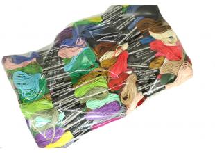 Мулине (DMC) набор 80 цветов
