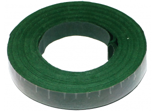 Флористическая лента Тейп (1.2см/30м/Зеленая)