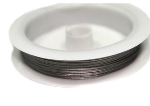 Тросик для бижутерии (30м/0.38мм/серебро)