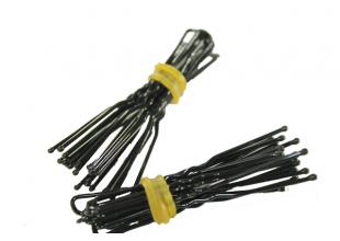 Шпильки черные для волос (4.5см/10шт)