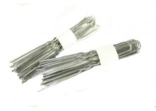 Шпильки для волос серебристые (6см/10шт)