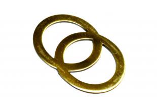 Пряжка для ремня (Кольцо) 60х47мм