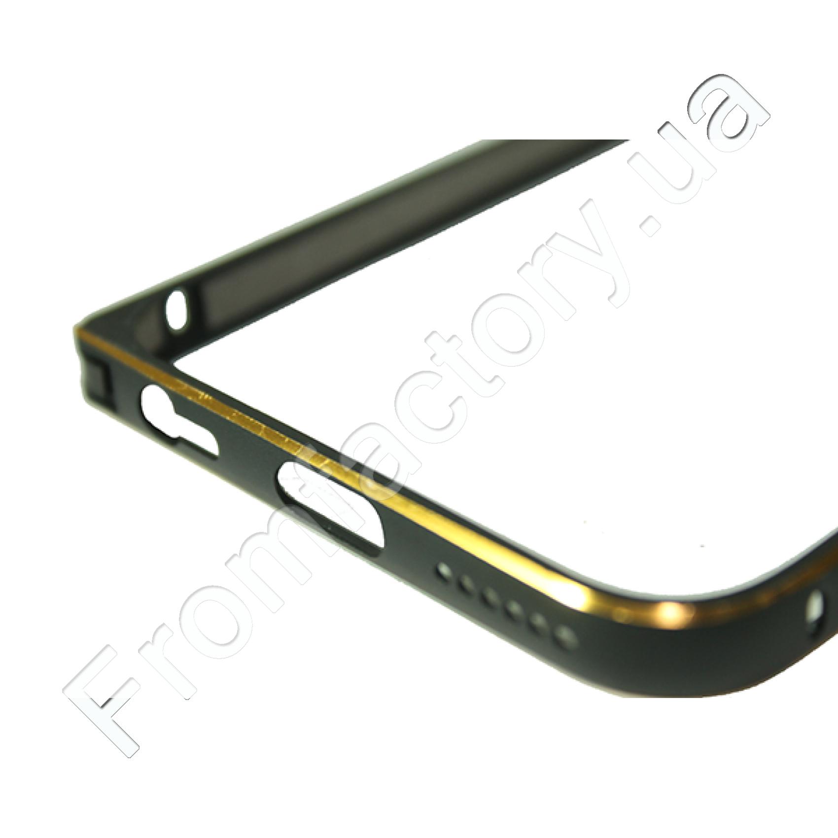 Бампер металлический с застежкой на IPhone 5/5s/SE