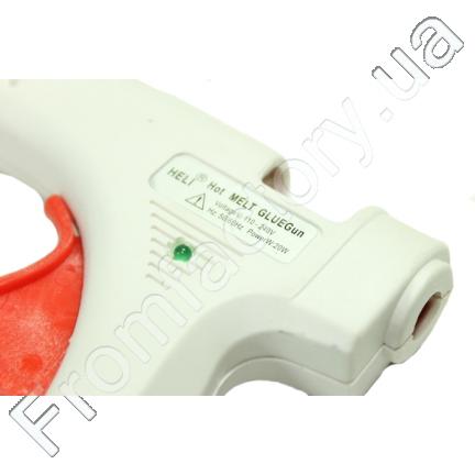 Пистолет клеевой 7мм (20W/белый)