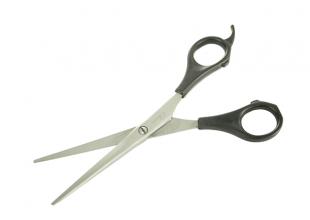 Ножницы парикмахерские с пл. руч. (16см)