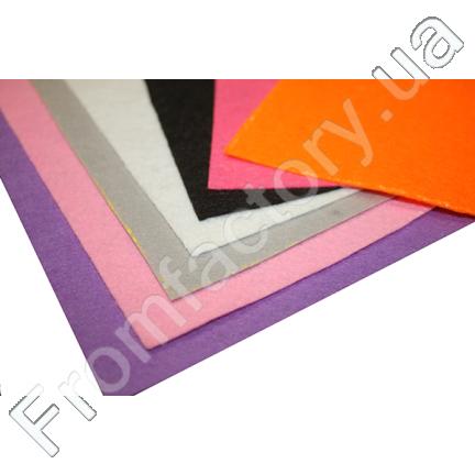 Фетр 1мм (разные цвета) 25х25см