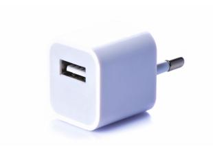 Блок питания 5Вт/1А (USB, разные цвета) 5