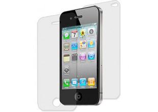 Пленка защитная для Iphone 4/4s (на дисплей и заднюю панель, 2 шт)