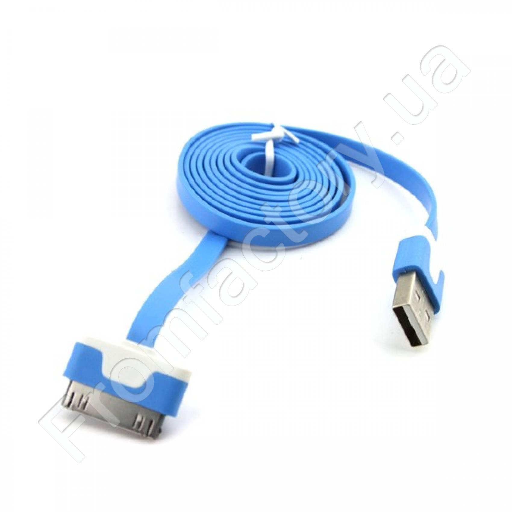 Кабель для Apple USB/30mm (разные цвета, 1 м)